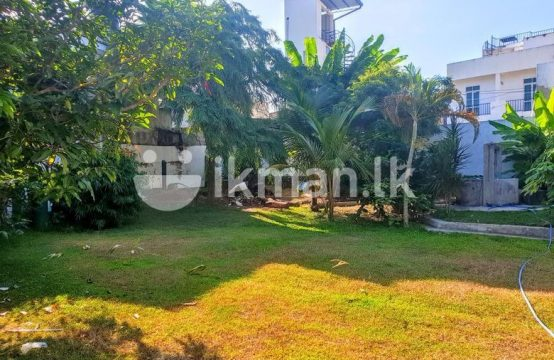 20 P Bare Land for Sale at Kalubowila