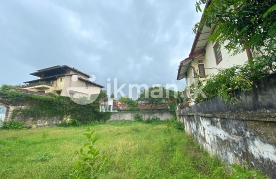 Ideal 20 P Bare Land for sale at Colombo 05
