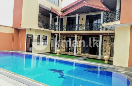 Luxury 02 Story House & 37 P for sale At Boralesgamuwa