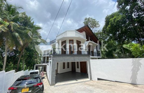 Luxury New 02 Story House for sale at Pannipitiya