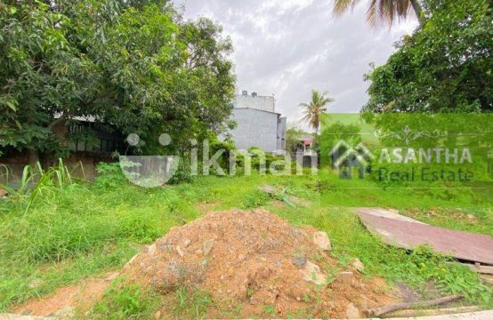 23 P Bare Land for sale at Colombo 5 facing Kirimanadala Mawatha